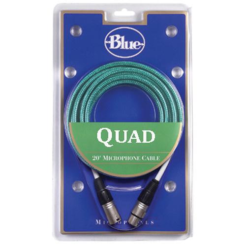 Blue Quad Cable