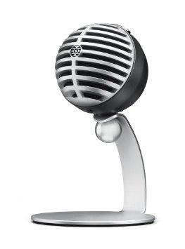 Shure Motiv MV5 - Digital Condenser Microphone (Grey)