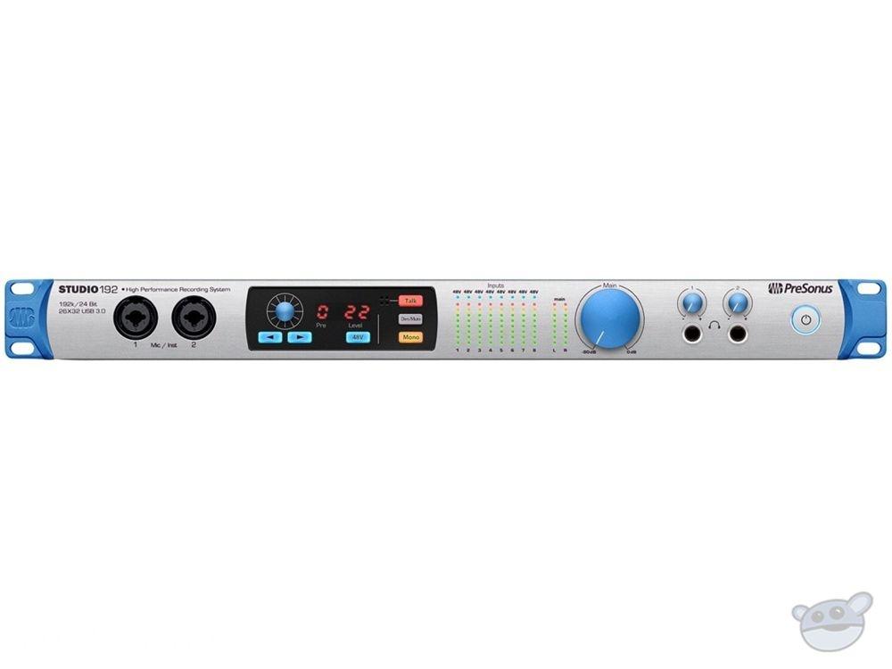PreSonus Studio 192 USB Audio Interface & Studio Command Center