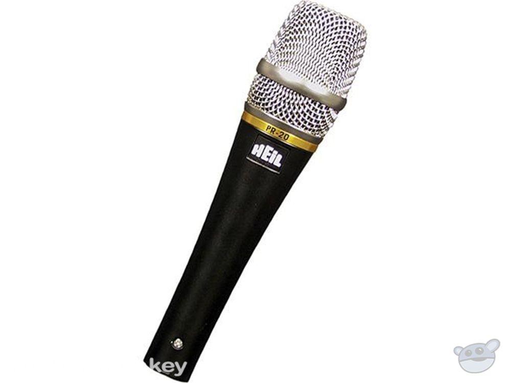 Heil Sound PR 20 Dynamic Cardioid Handheld Microphone (Black)