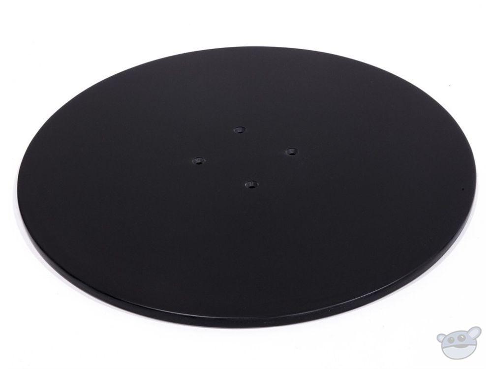"Kessler Turntable Top Surface - (18"") Black Corian"