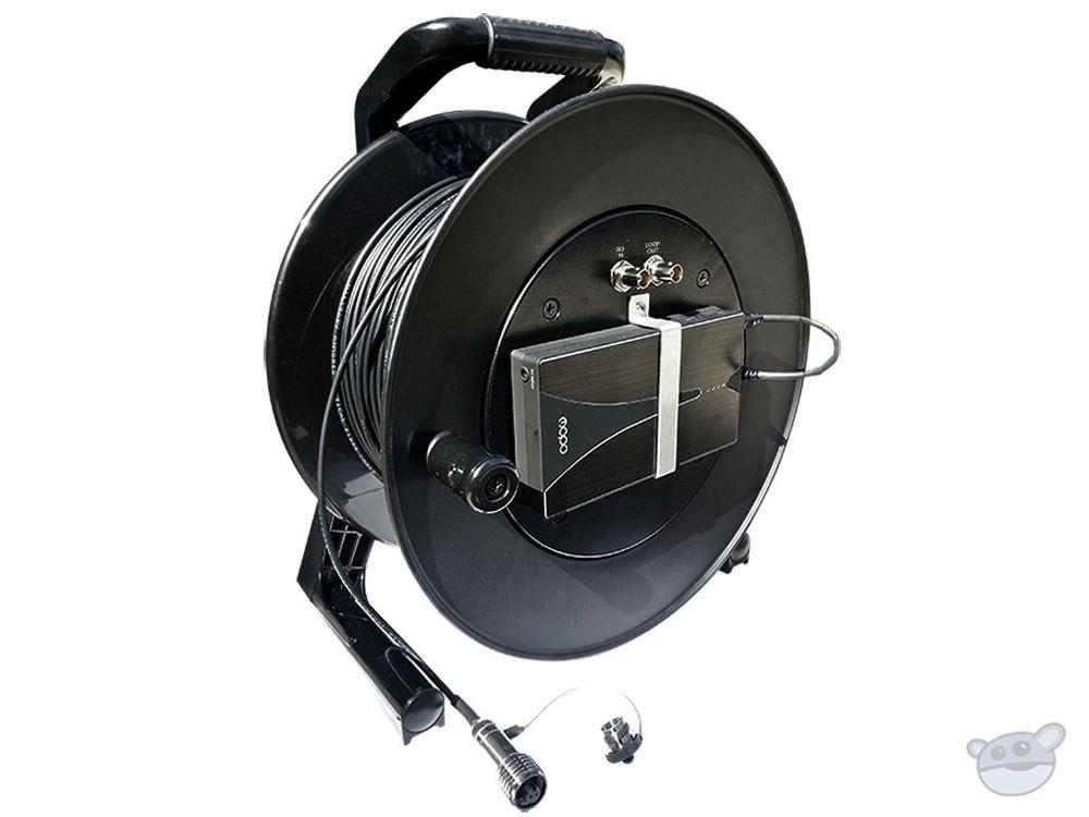 Tactical Fiber Systems CamLink Plus Fibre Transmission System Cable Reel (1000 ft)