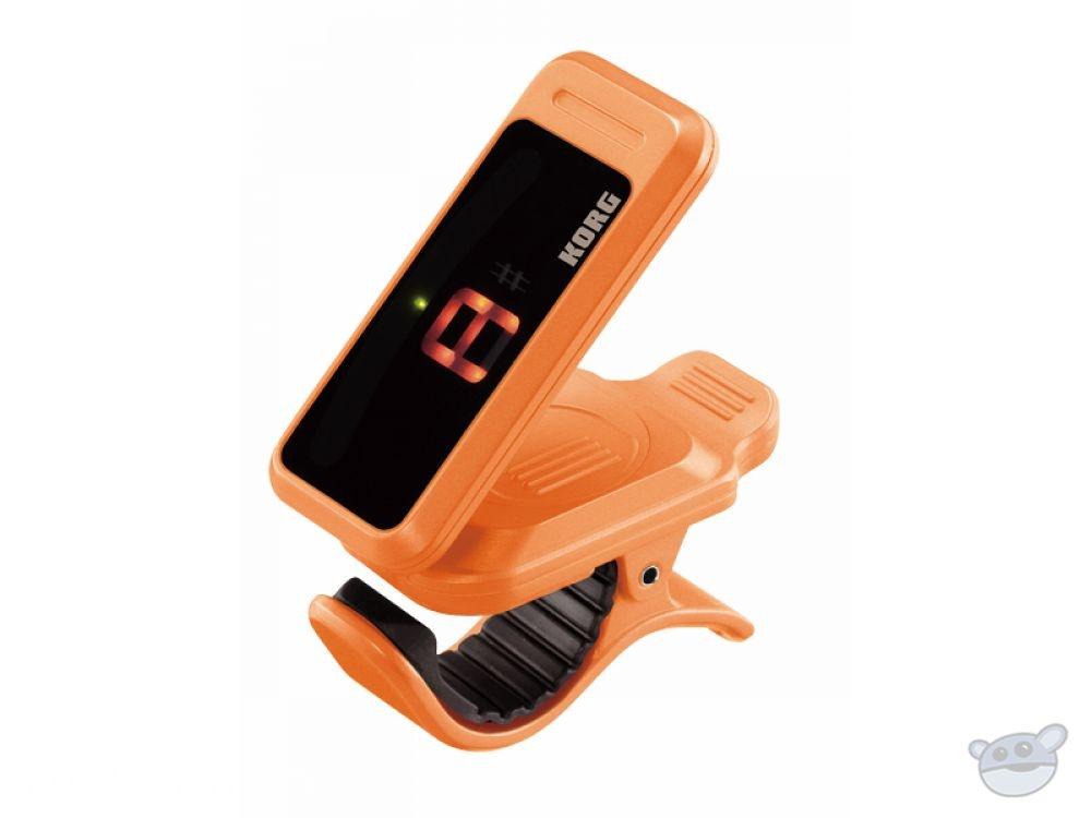 Korg PC1 Pitchclip Headstock Clip-On Tuner (Orange)