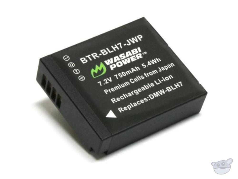 Wasabi Power Battery - Panasonic DMW-BLH7 Type