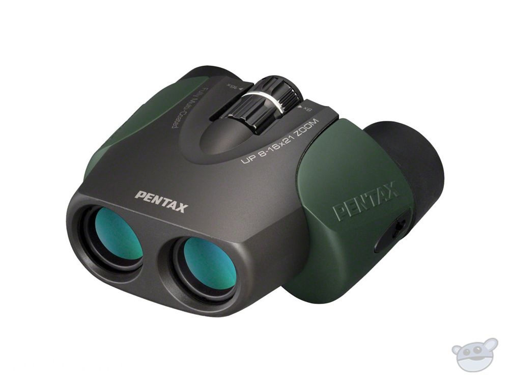 Pentax 8-16x21 U-Series UP Binocular (Green)