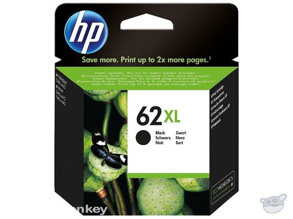 HP 62XL High Yield Black Original Ink Cartridge (C2P05AA)