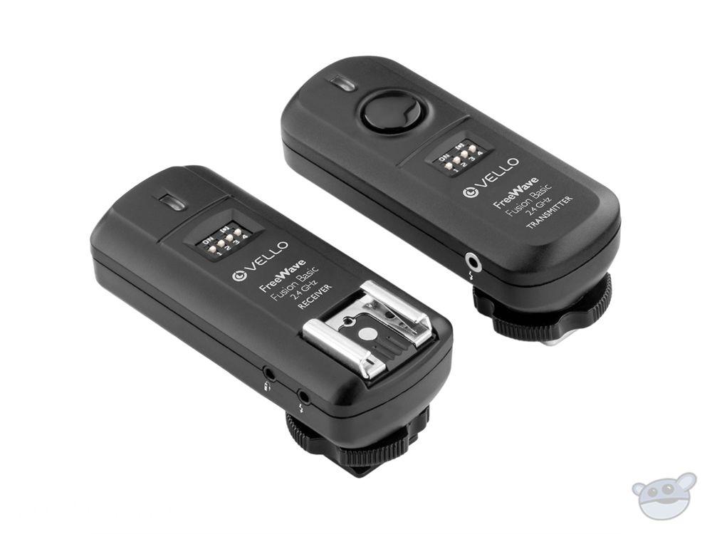 Vello FreeWave Fusion Basic FWB-24 Wireless Trigger System for Nikon