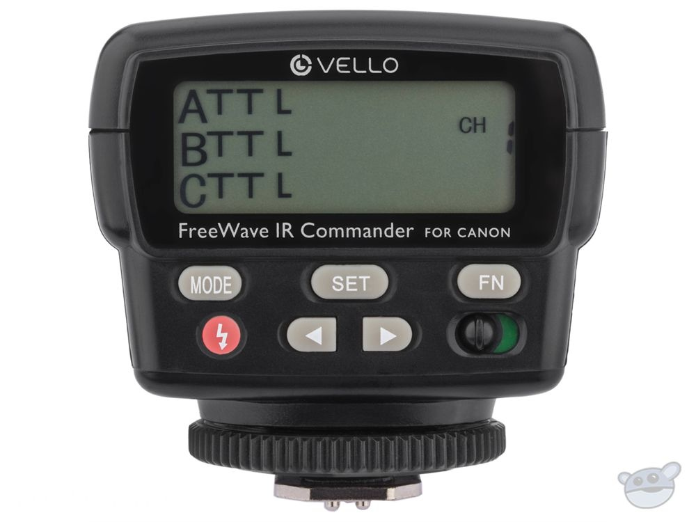 Vello FWIRC-C FreeWave IR TTL Flash Commander for Canon