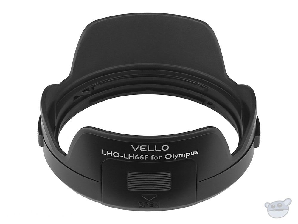 Vello LH-66F Dedicated Lens Hood with Filter Access Panel