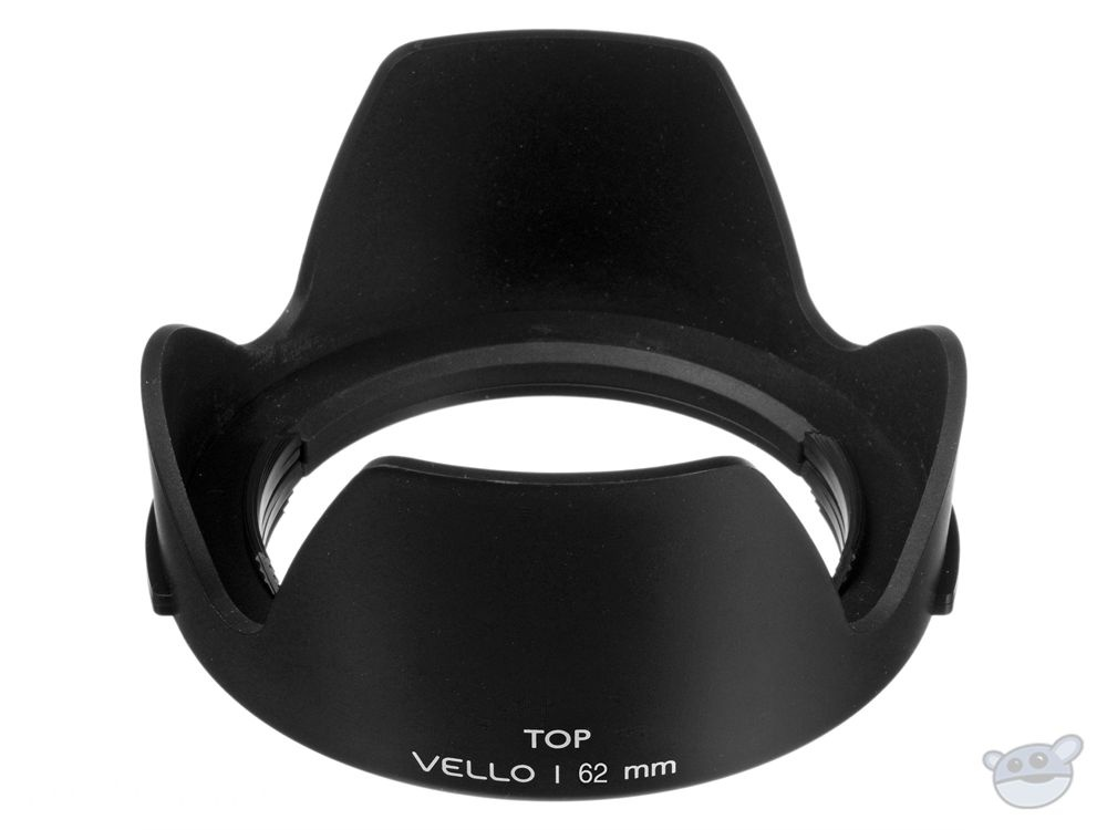 Vello 62mm Snap-on Tulip Lens Hood (Version II)