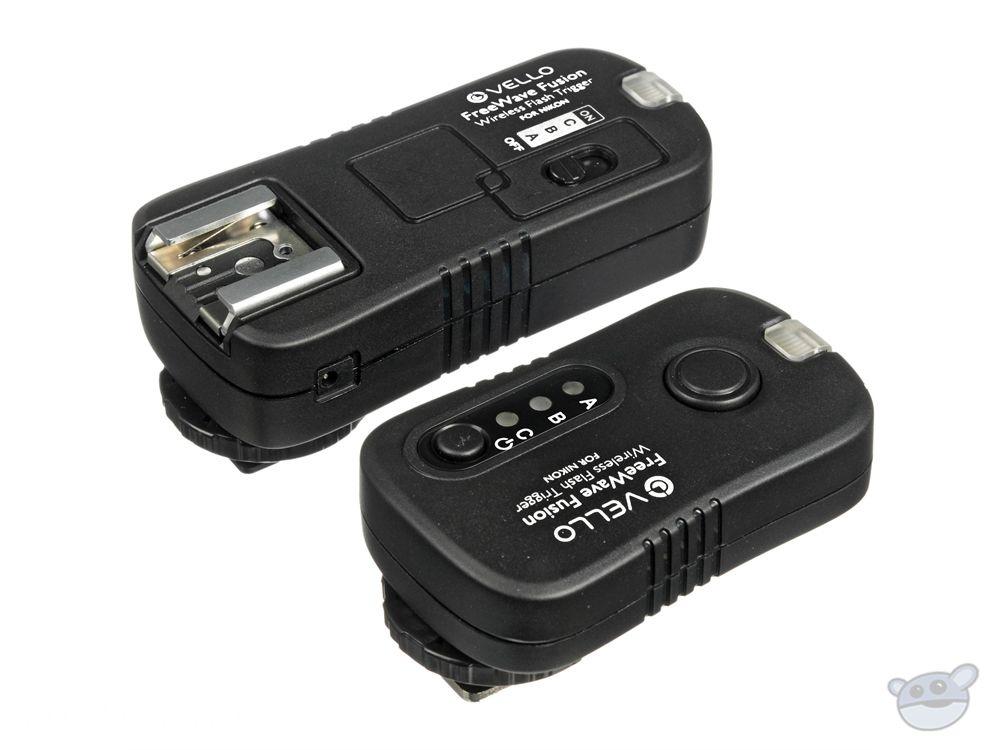 D5000 D90 Vello FreeWave Wireless Remote Shutter Release for Nikon DC-2 Connection D3100 D5100 D7000