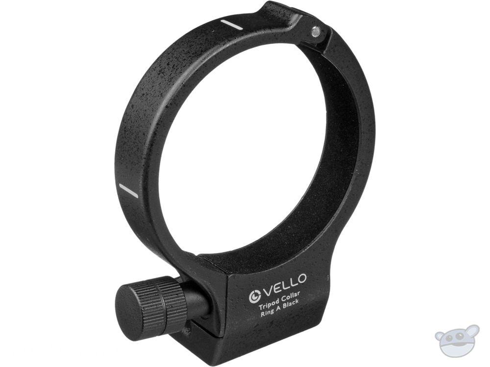 Vello Tripod Collar A (Black) for Canon 200mm f/2.8, 70-200mm f/4 & 400mm f/5.6 Lenses