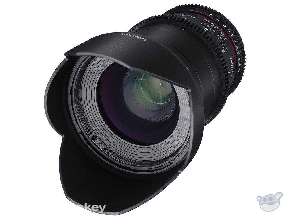 Samyang 35mm T1.5 VDSLRII Cine Lens for Canon EF Mount