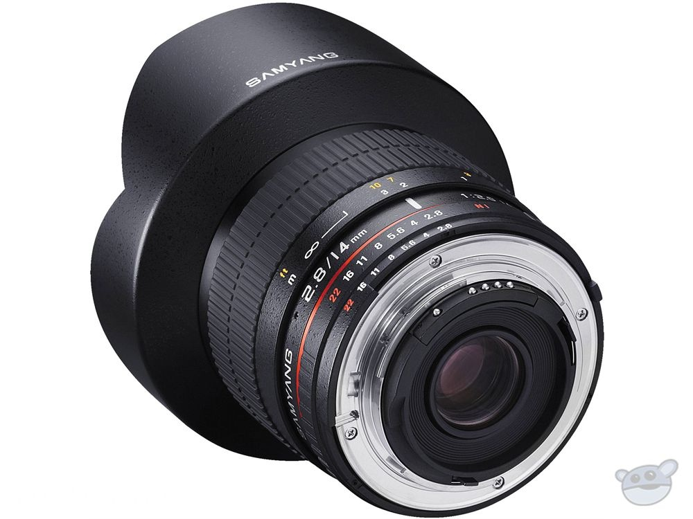 Samyang 14mm Ultra Wide-Angle f/2.8 IF ED UMC Lens (Nikon)