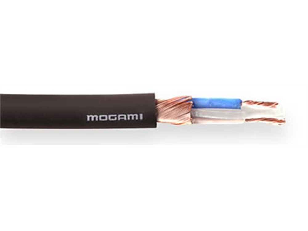 Mogami W2549 Neglex-Type Balanced Microphone Cable (Black, Per Metre)
