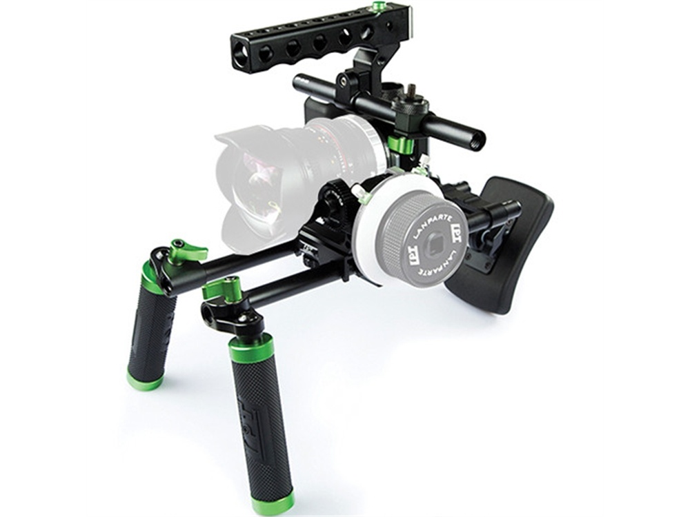 Lanparte Blackmagic Pocket Cinema Camera Basic Handle Rig