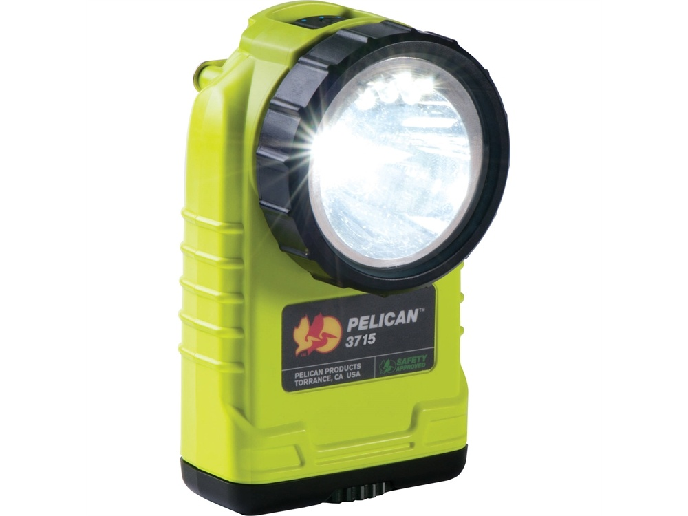 Pelican 3715 Right Angle Light (Yellow)