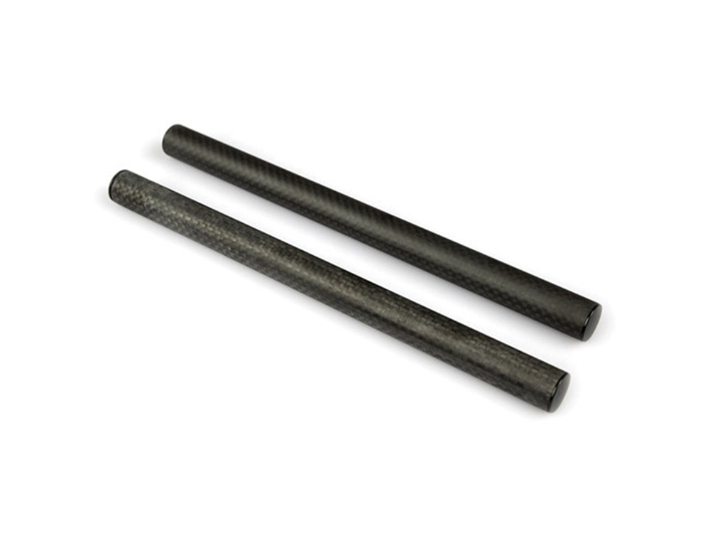 "Lanparte Carbon Fibre 15mm Rods (Pair, 9.8"")"