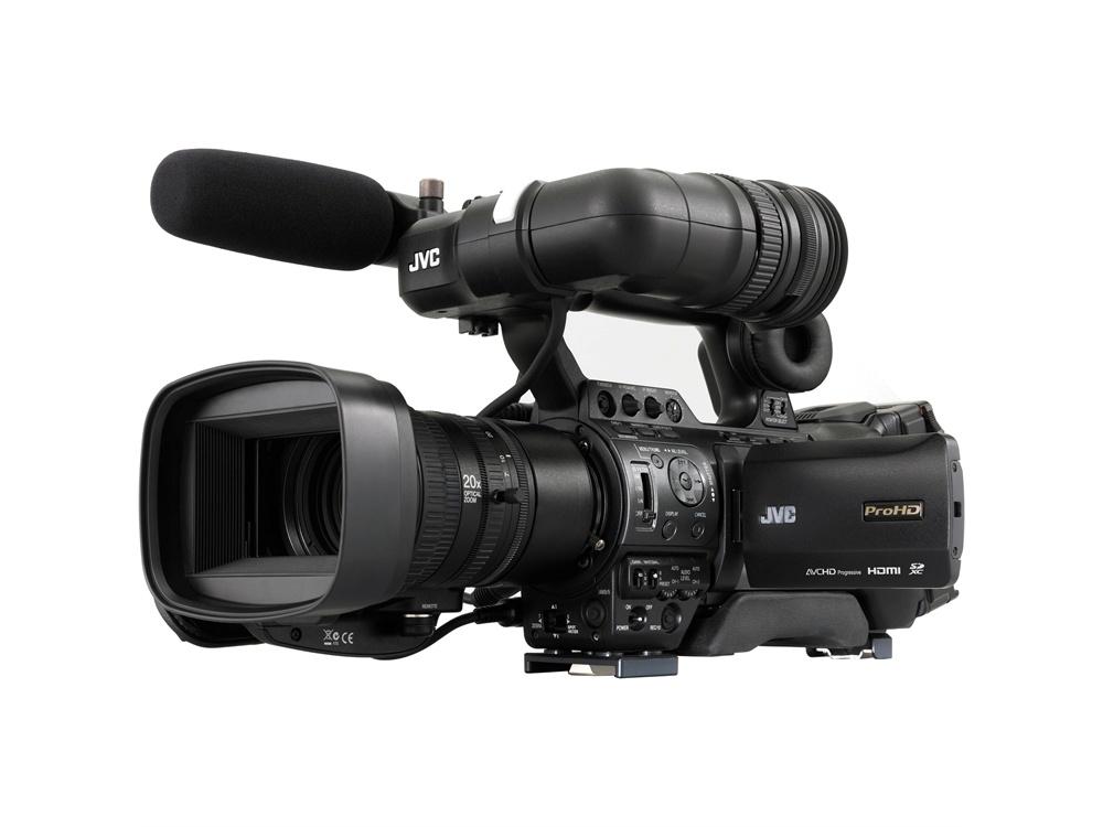 JVC GY-HM890E ProHD Compact Shoulder Mount Camera with Fujinon 20x Lens