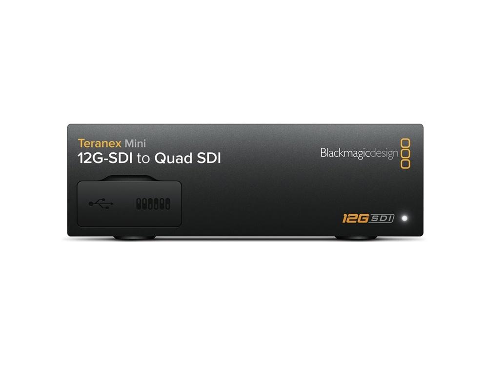 Blackmagic Design Teranex Mini - 12G-SDI to Quad SDI Converter