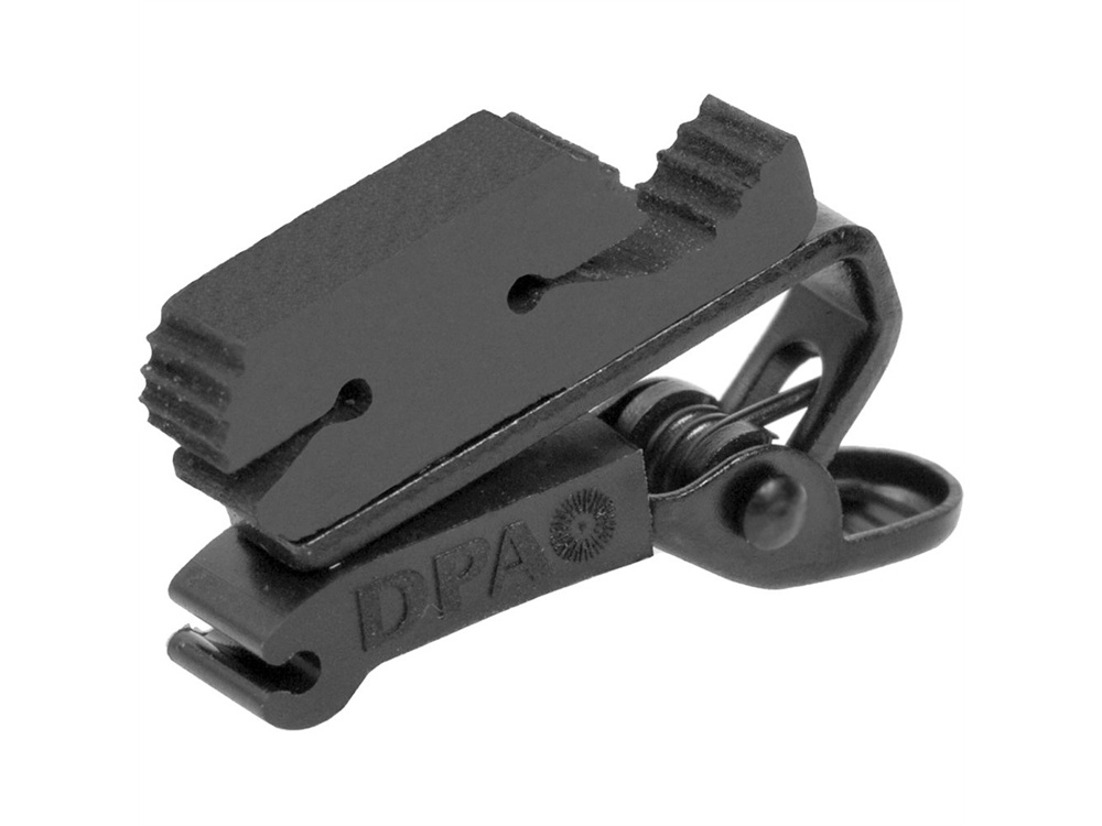 DPA Microphones SCM0008 Miniature Clip, Double Lock (Black)