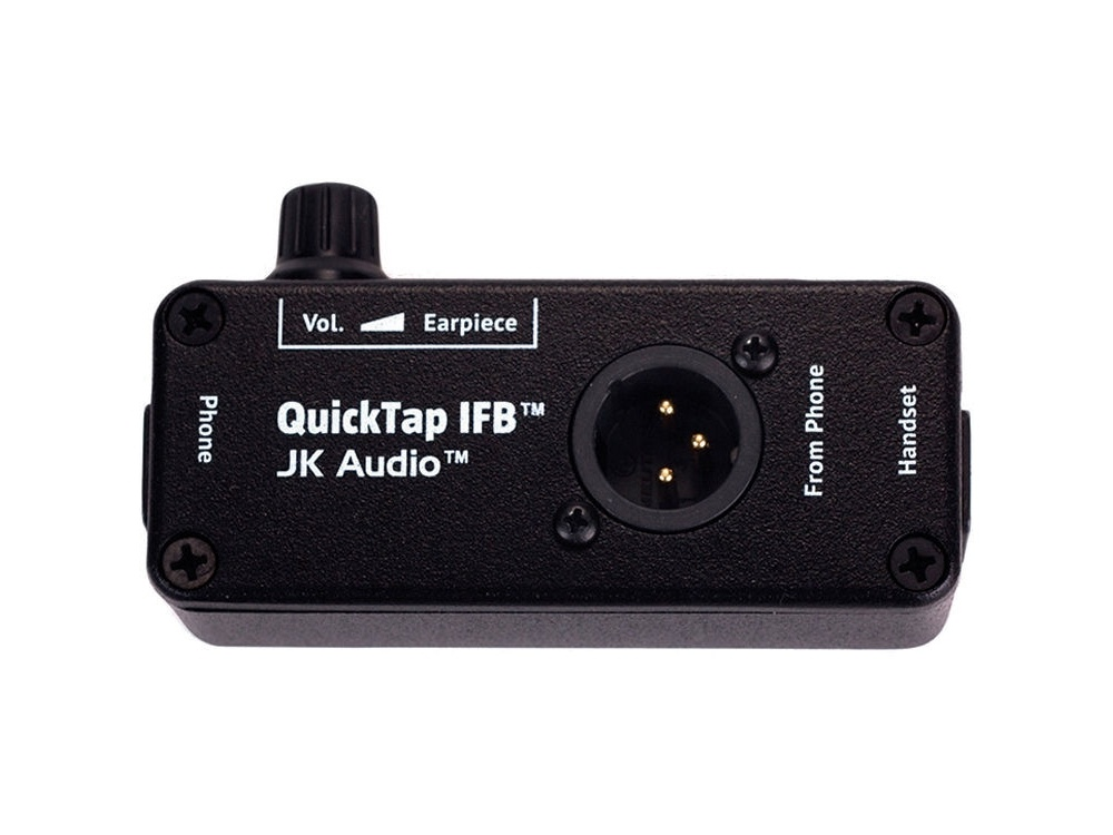 JK Audio QUICKTAP-IFB - Telephone Handset Tap for IFB Intercom or ENG