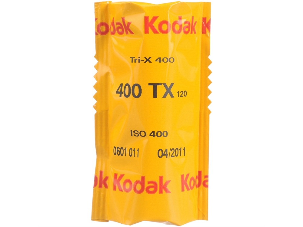 Kodak Professional Tri-X 400 Black and White Negative Film (120 Roll Film, 5 Pack)