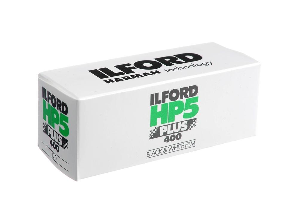 Ilford HP5 Plus Black and White Negative Film (120 Roll Film)