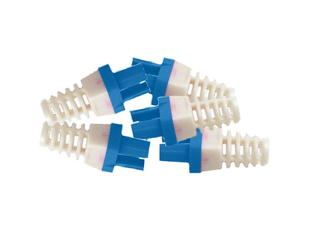 Platinum Tools Strain Reliefs for EZ-RJ45 CAT6 Connectors (50-Pack, Blue)