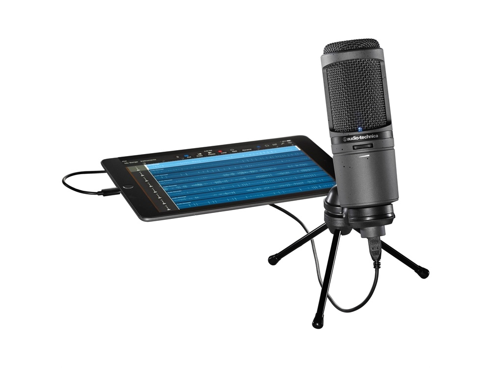 Audio Technica AT2020-USBI USB Microphone for Mac, PC and iPhone