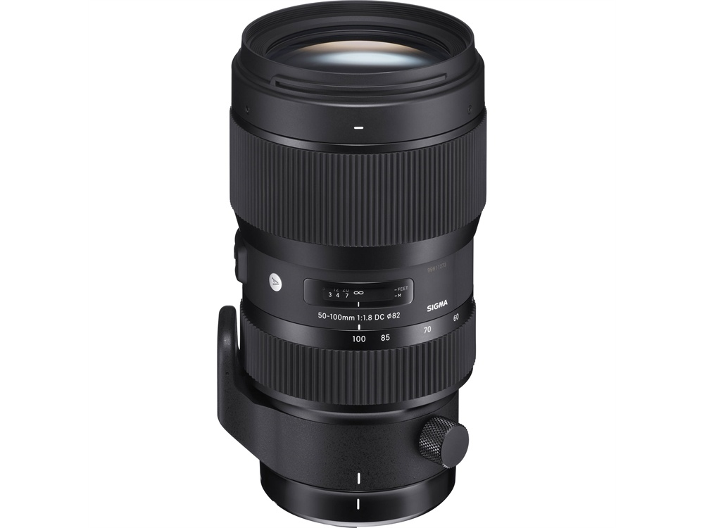 Sigma 50-100mm f/1.8 DC HSM Art Lens for Canon EF