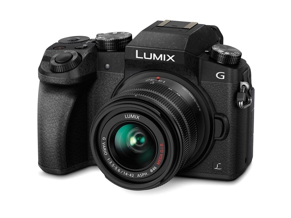 Panasonic Lumix DMC-G7 Mirrorless Micro Four Thirds Digital Camera with 14-42mm Lens (Black Body)