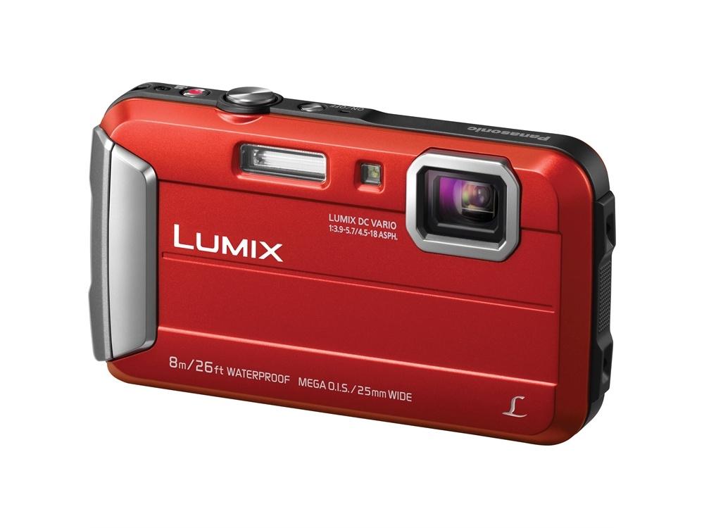 Panasonic Lumix DMC-FT30 Digital Camera (Red Body)