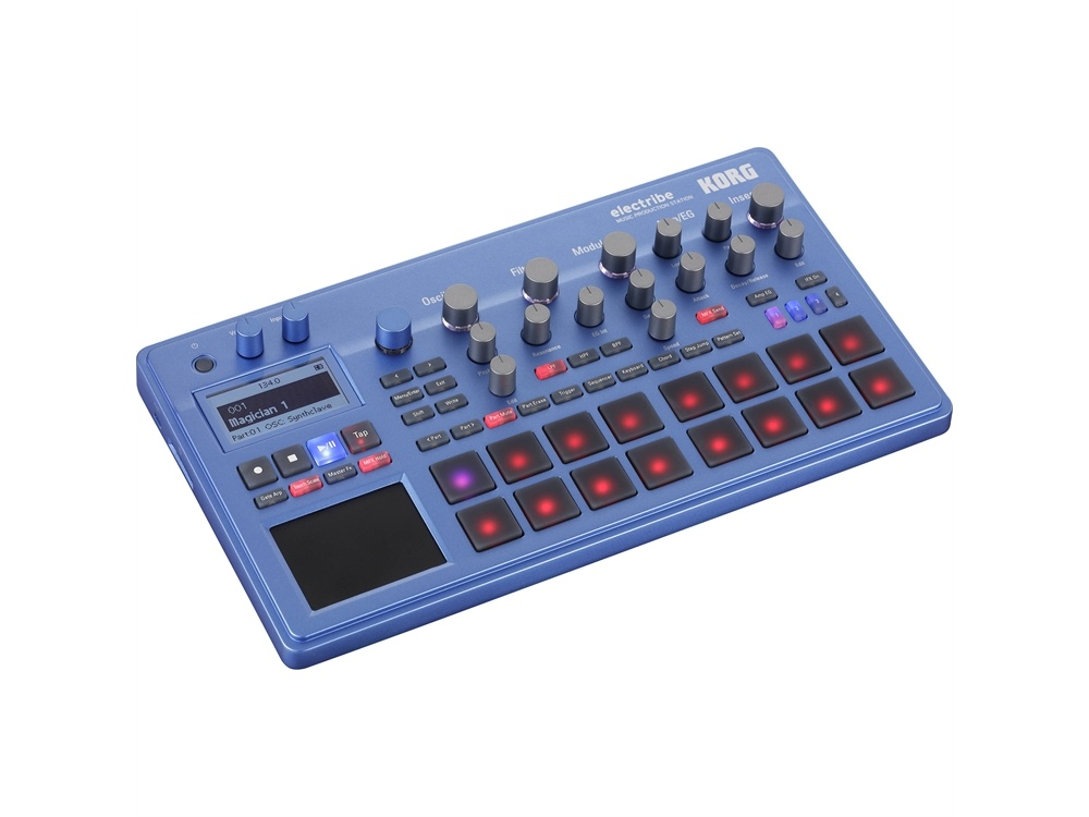 Korg Electribe Music Production Station with V2.0 Software (Blue)