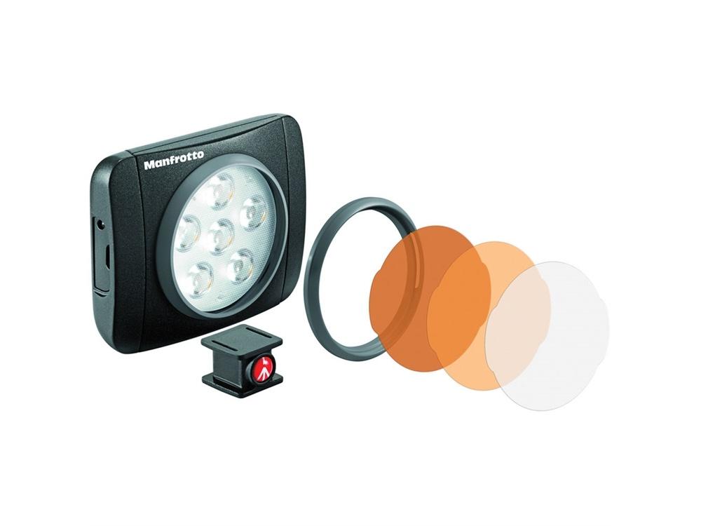 Manfrotto MLUMIEART Lumimuse 6 On-Camera LED Light (Black)