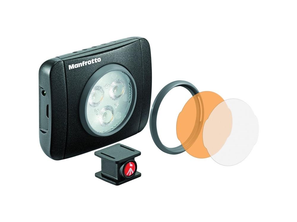 Manfrotto MLUMIEPL-BK Lumimuse 3 On-Camera LED Light (Black)