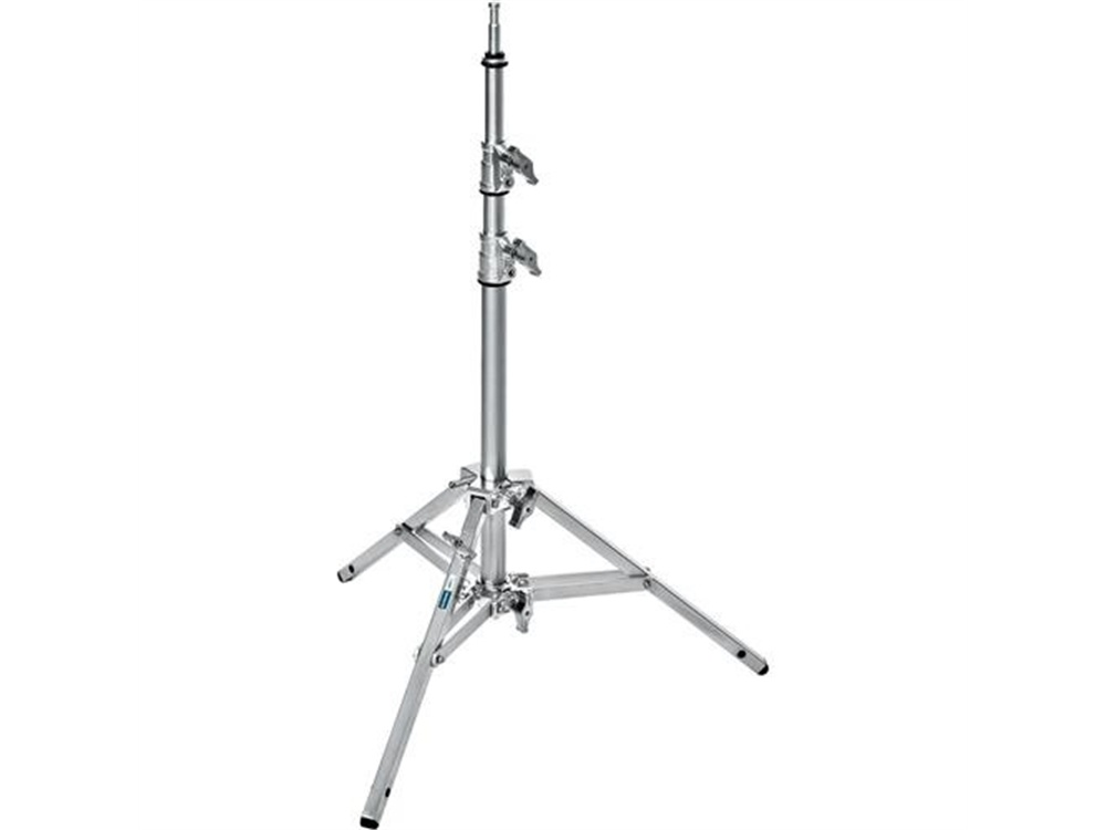 Avenger Baby Stand 17 with Leveling Leg (Chrome-plated, 5.75')