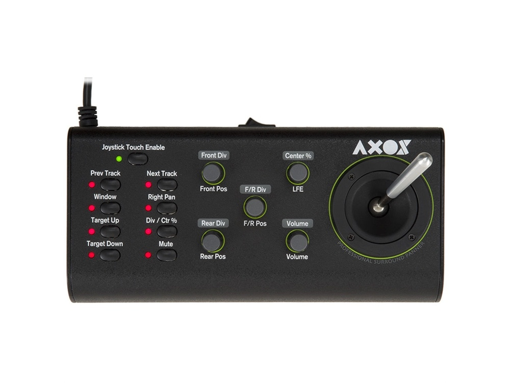 JLCooper AXOS Surround Panner for AVID Pro Tools and Apple Logic Pro X