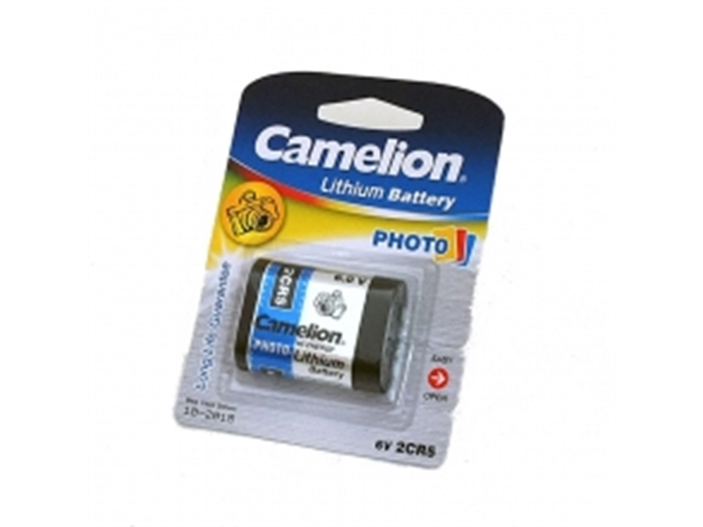 Camelion 2CR5 6V Li Photo Battery (1PK)