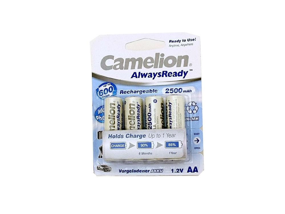 Camelion Always Ready 2500mAh AA (4PK)