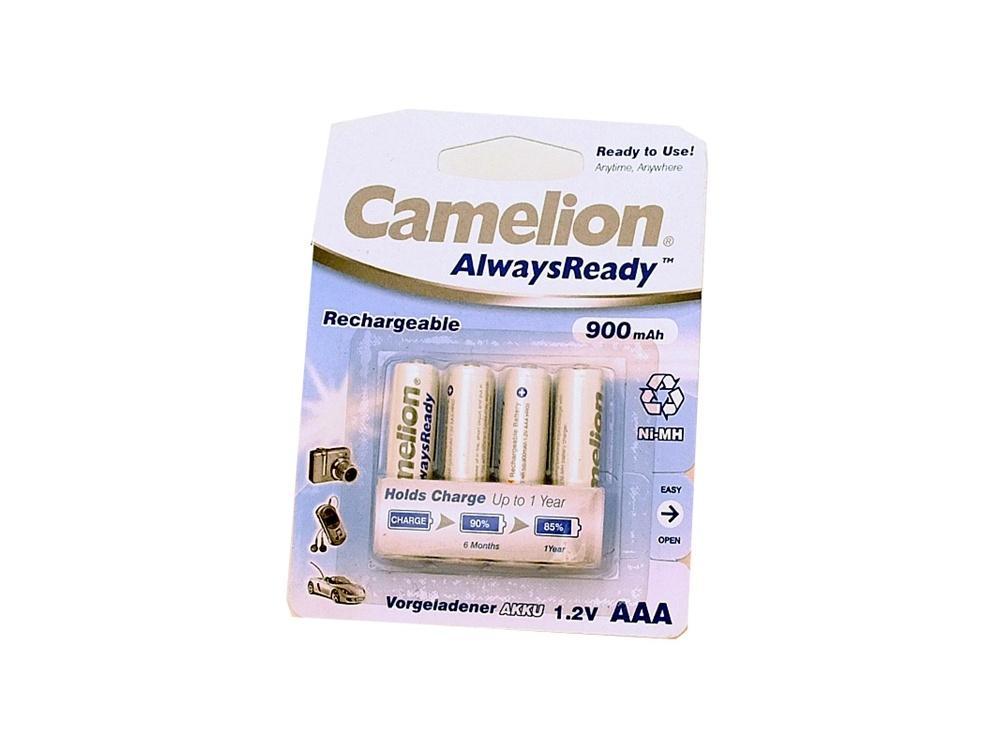 Camelion Always Ready 900MAH AAA (4PK)