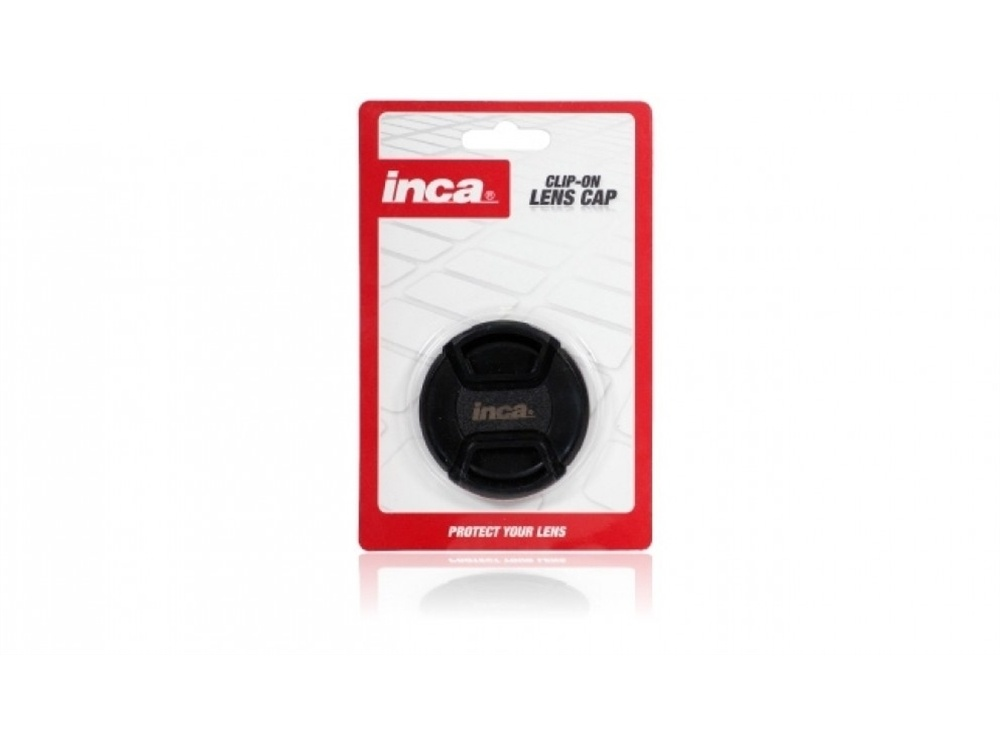 INCA 58MM Lens cap clip on