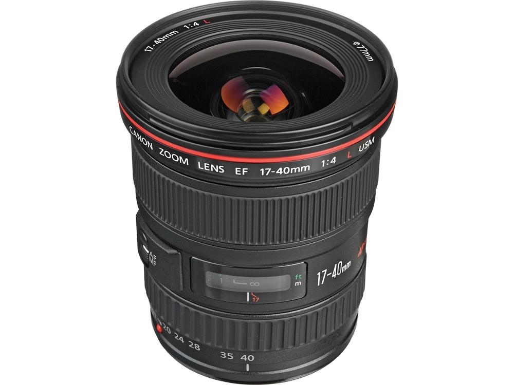 Canon EF 17- 40mm f4L USM Lens