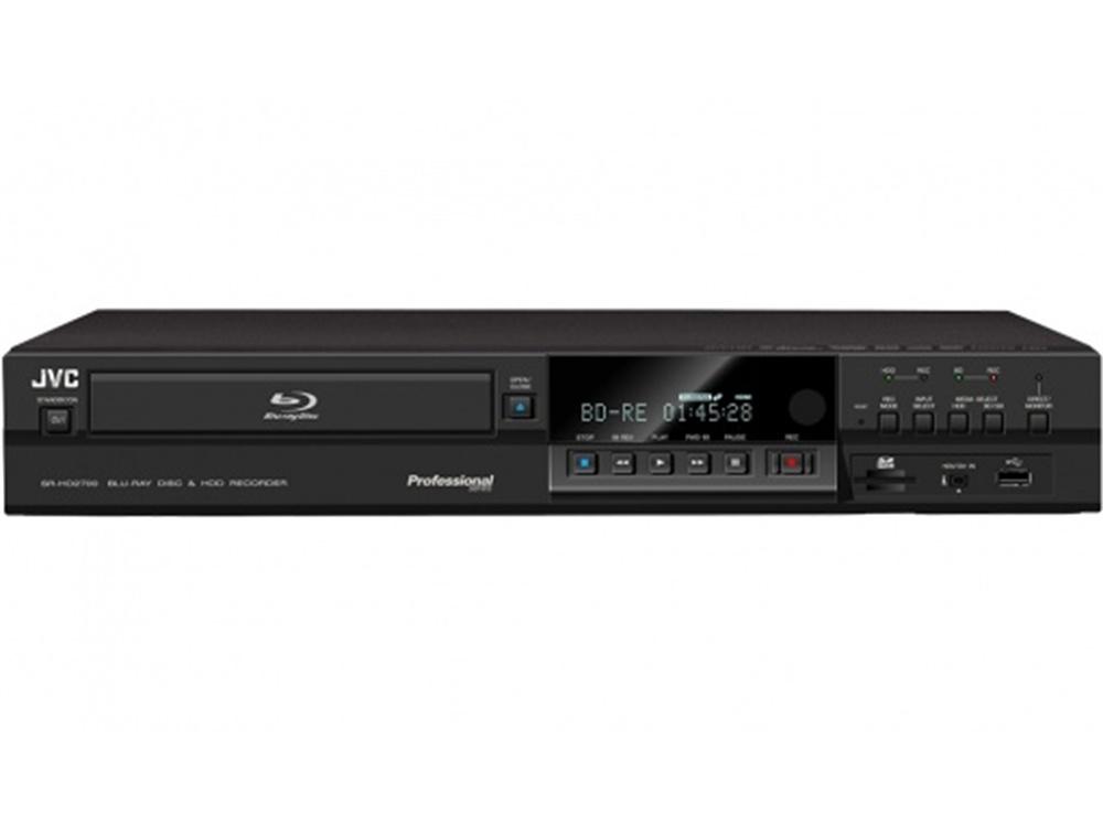 JVC SR-HD2700EU Blu-ray and DVD Combi Deck