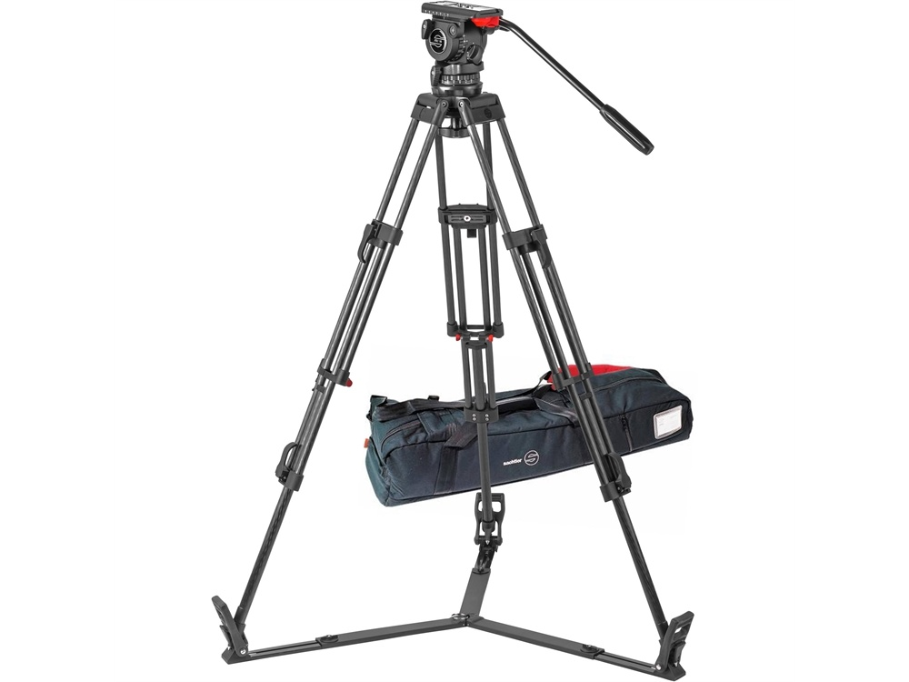 Sachtler FSB 10 T ENG 2 CF Carbon Fiber Tripod System with Touch & Go Plate (100mm)
