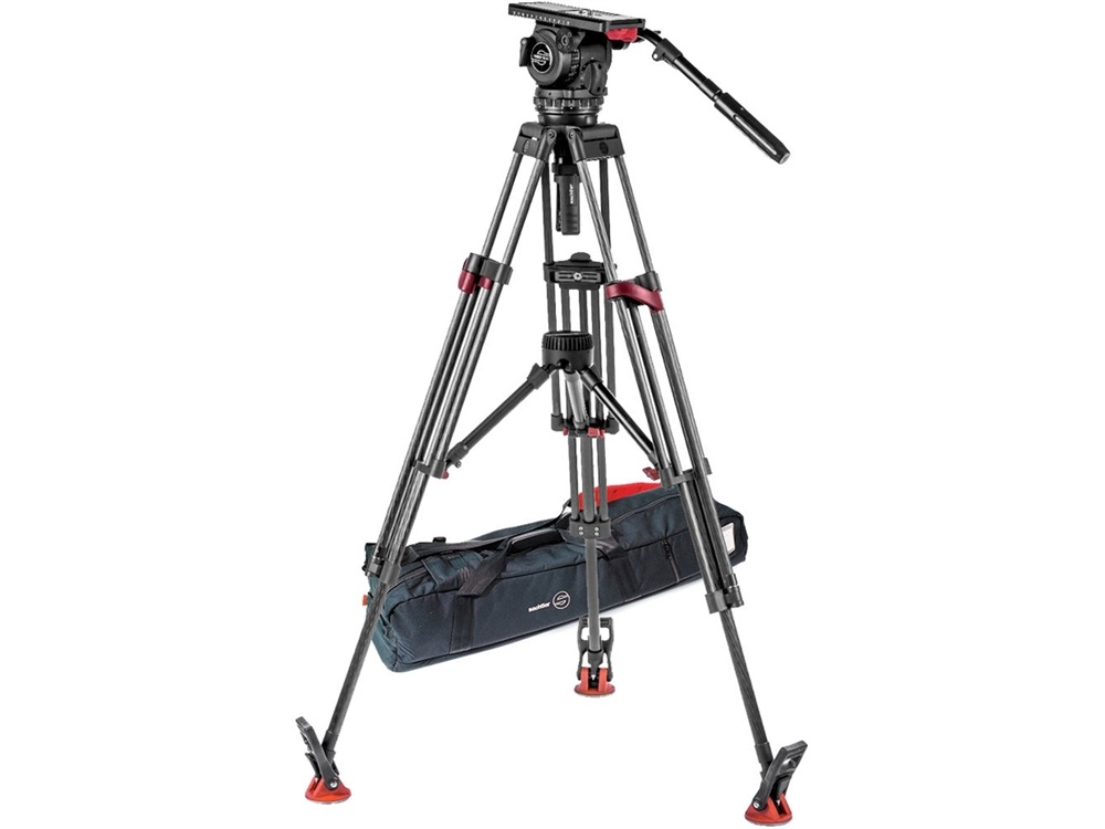 Sachtler Video 18 S2 Fluid Head & Speed Lock CF Dual-Stage Tripod System