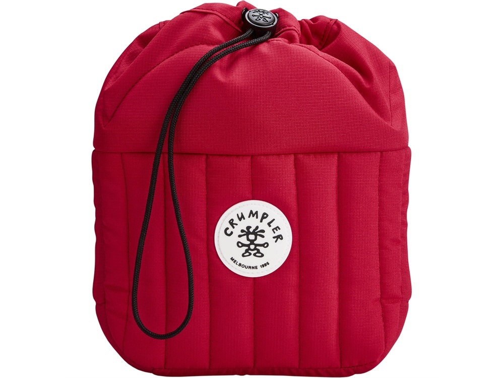 Crumpler Haven Drawstring Pouch for Camera & Accessories (Medium, Red)