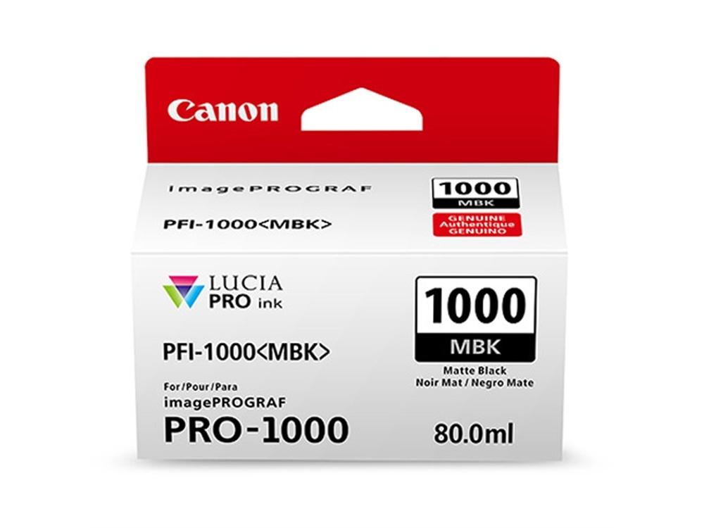 Canon PFI-1000 MBK LUCIA PRO Matte Black Ink Cartridge (80ml)