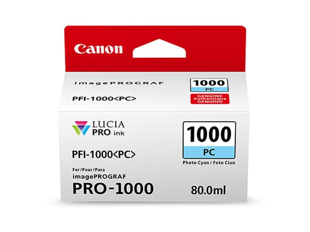 Canon PFI-1000 PC LUCIA PRO Photo Cyan Ink Cartridge (80ml)