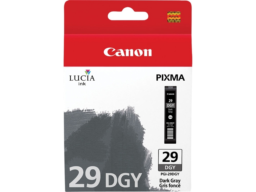 Canon PGI-29 LUCIA Dark Gray Ink Cartridge